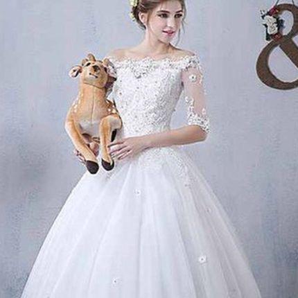 Свадебное платье А823 - прокат