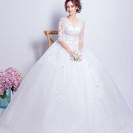 Свадебное платье - модель А852 в аренду