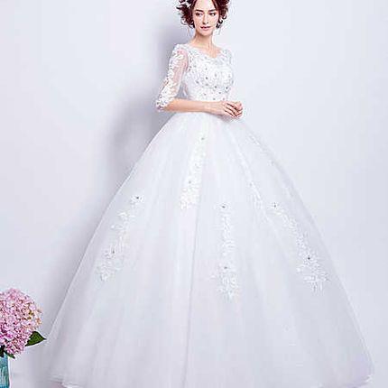 Свадебное платье - модель А856 в аренду