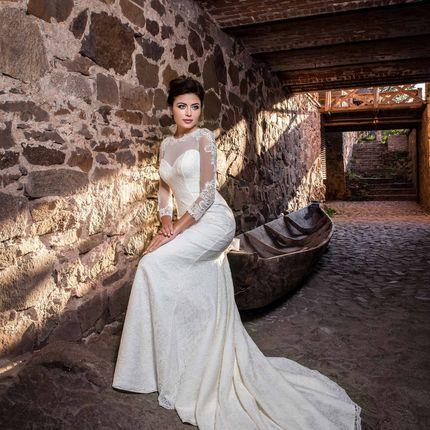 Свадебное платье в аренду, модель А970