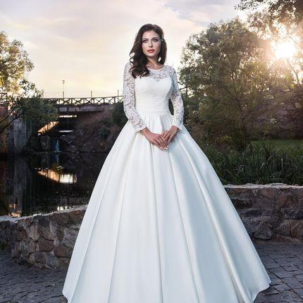 Свадебное платье в аренду, модель А973