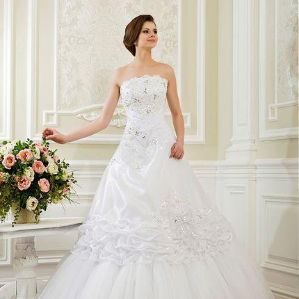 Свадебное платье А-силуэта, арт. А1119