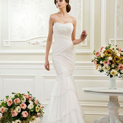 Свадебное платье русалка, арт. А1133