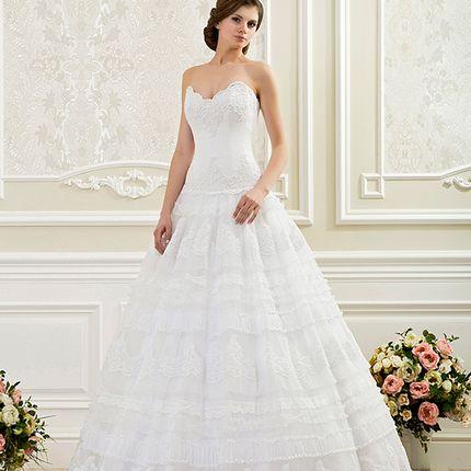Пышное свадебное платье А1143 в аренду