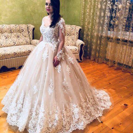 Свадебное платье пышное А1241