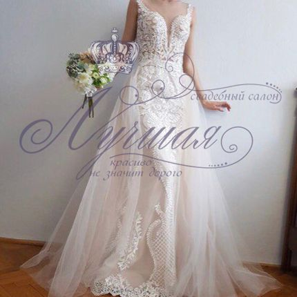 Свадебное платье-трансформер А1311