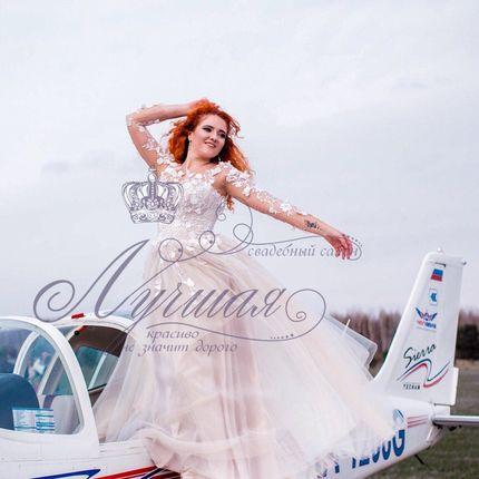 Свадебное платье пышное А1327