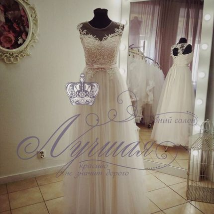 Свадебное платье А1334