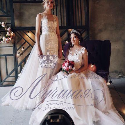 Платье пышное А1353 прокат