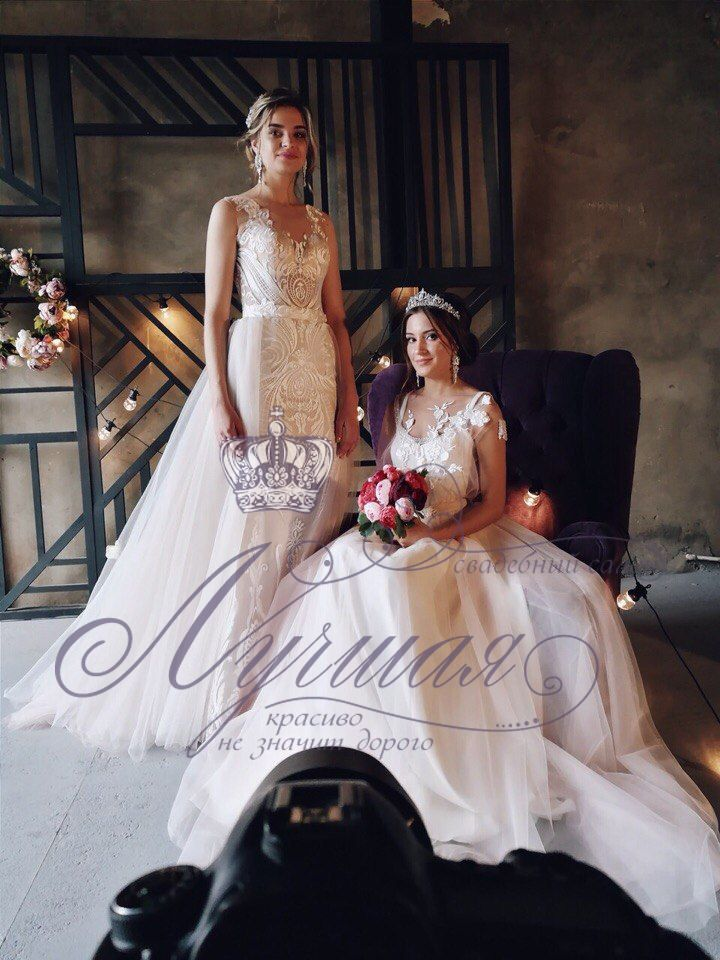 Свадебное платье А1353. Покупка НОВОГО 24.500р. Прокат свадебных платьев от 1.900 р до 14.500р на три дня. Есть отдельно ряд платьев для проката! - фото 17687930 Свадебный салон InLove