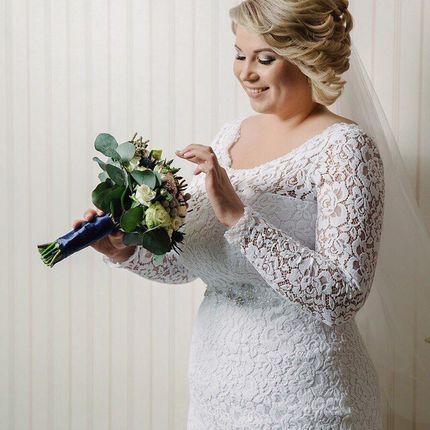 Свадебное платье рыбка  А1411