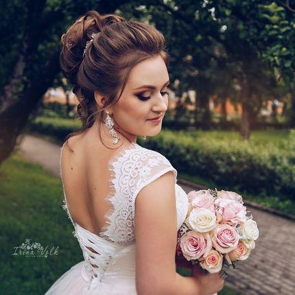 Свадебное платье пышное А1418