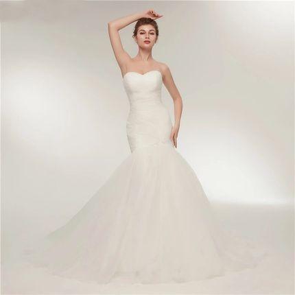 Свадебное платье силуэта рыбка А1442