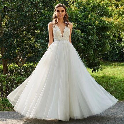 Свадебное платье пышное А1443