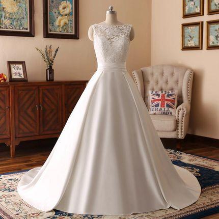 Свадебное платье со шлейфом А1461