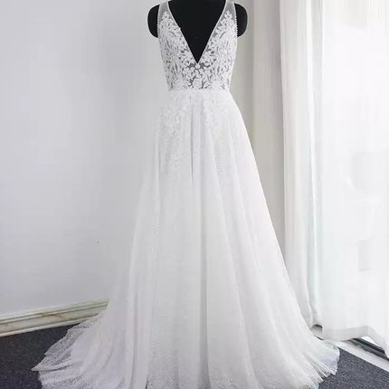 Платье со шлейфом А1487