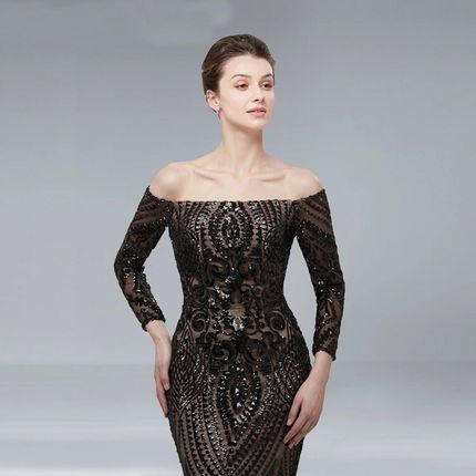 Вечернее платье силуэта рыбка А1510