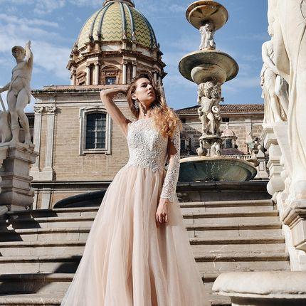 Платье с рукавами А1694