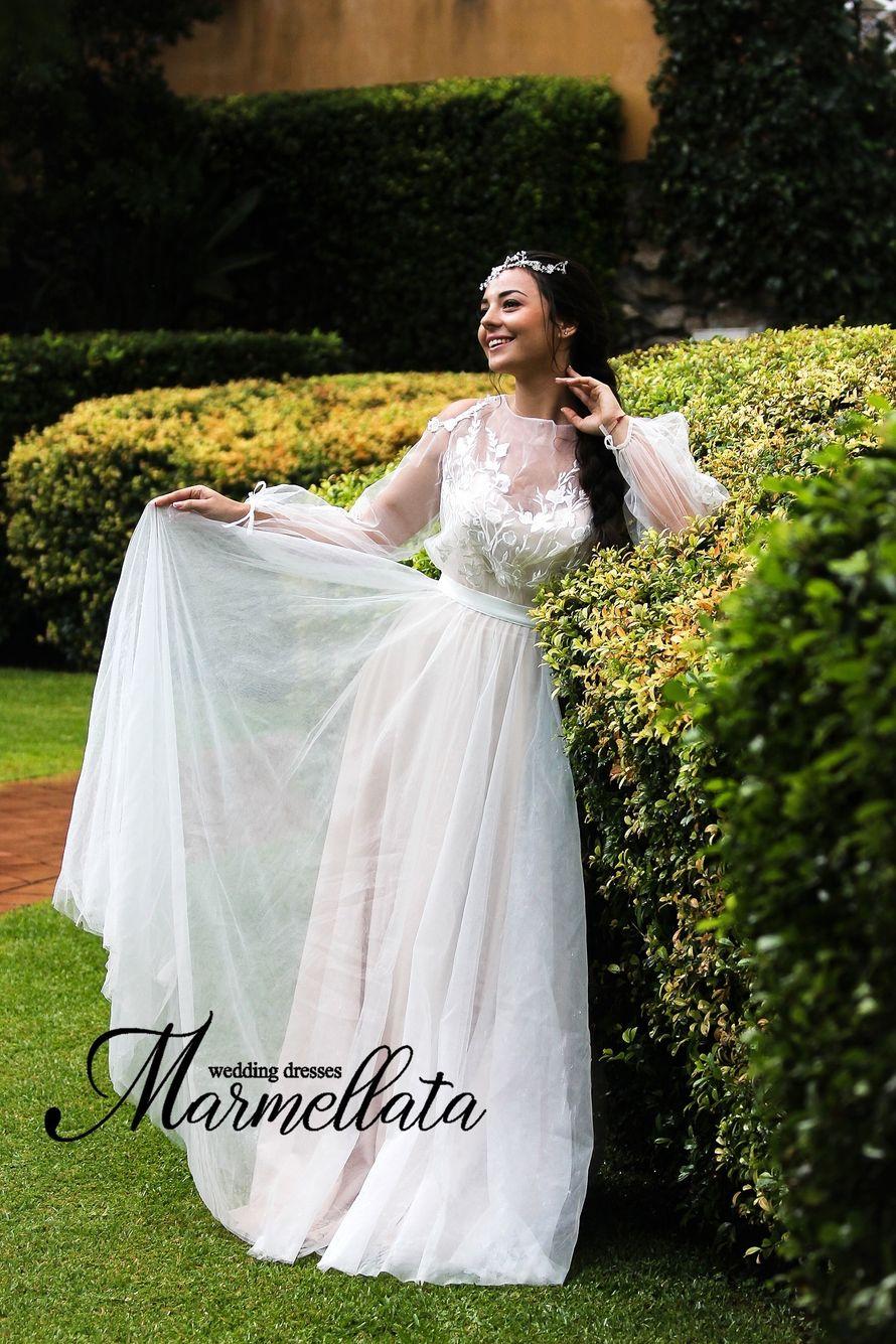 Платье длинное А1710
