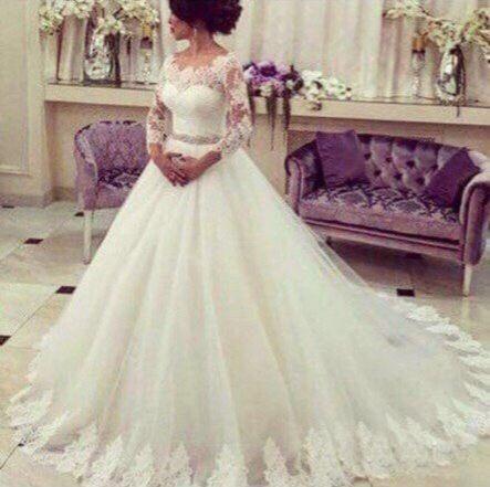 Платье пышное А1683 прокат
