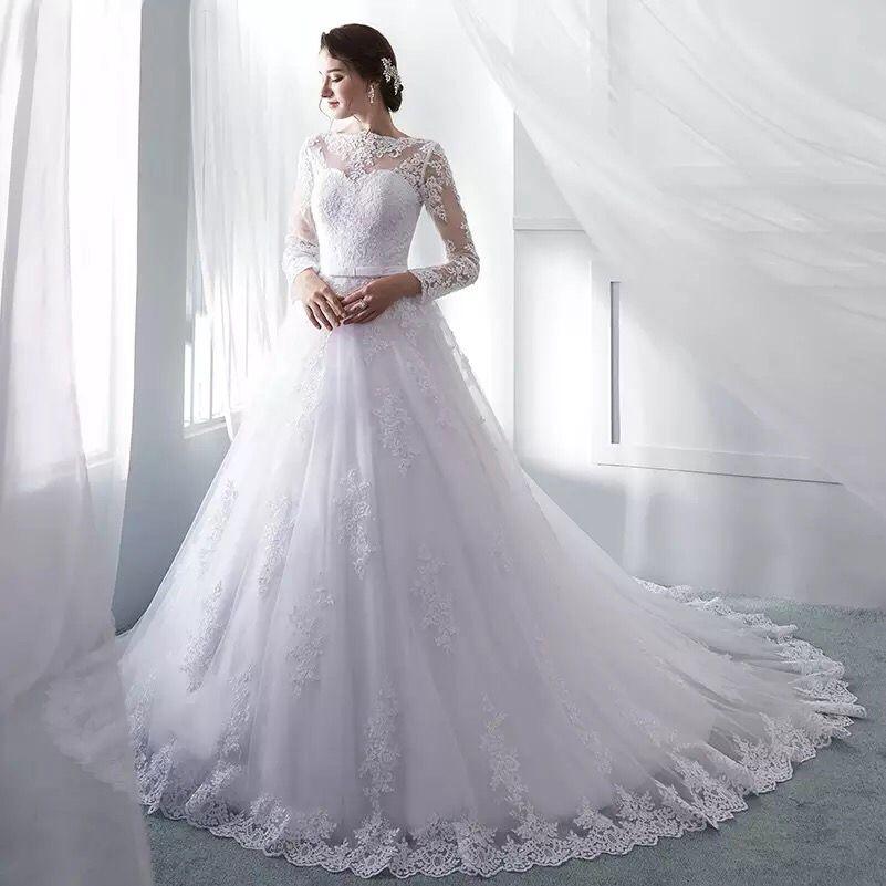 Платье со шлейфом А1689