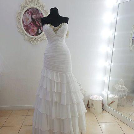 Платье без бретелей А1818