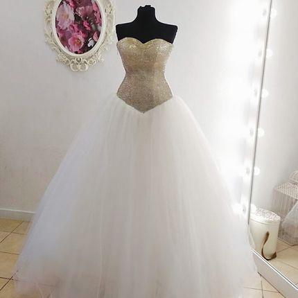 Платье без бретелей А1845