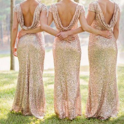 Платье подружки невесты A1990 прокат