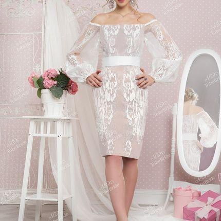 Короткое платье A2016