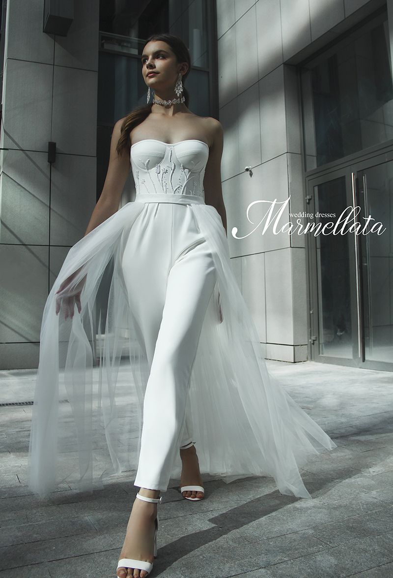 Свадебный костюм А2101, прокат