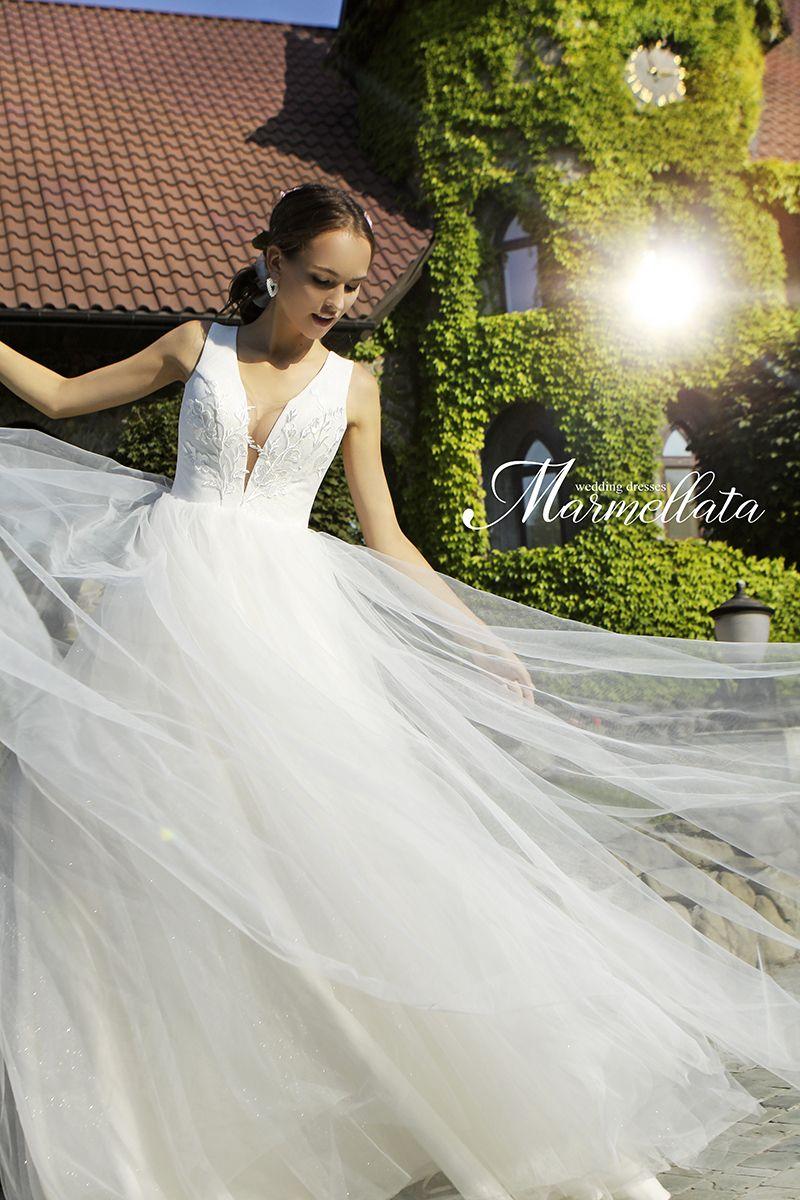 Свадебное платье А2106