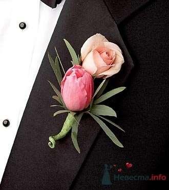 Фото 19779 в коллекции Букет невесты и бутоньерка - Невеста01