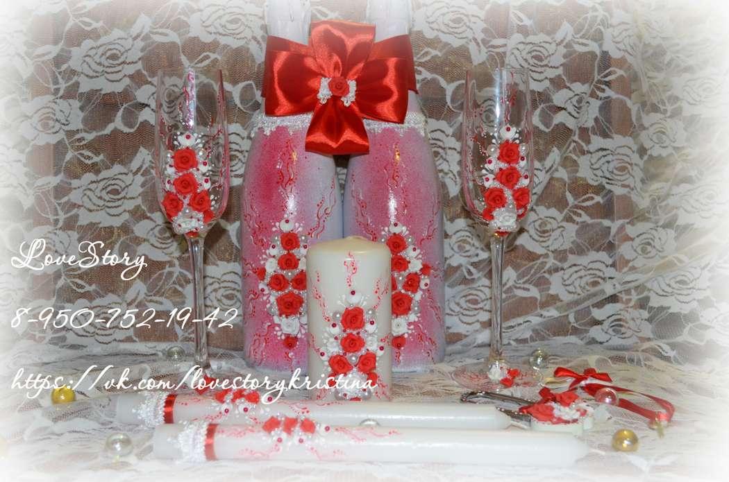 """Набор свадебных аксессуаров """"Роза"""" - фото 4425667 Студия аксессуаров Кристины Тишковой"""