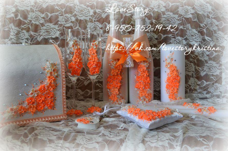 """Комплект свадебных аксессуаров """"Магия"""" - фото 4425723 Студия аксессуаров Кристины Тишковой"""
