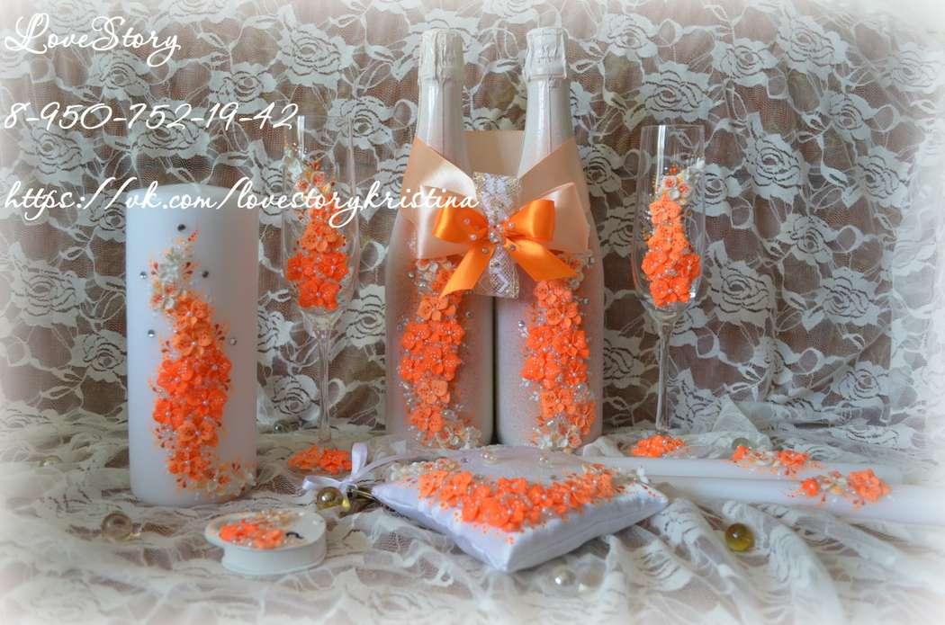 """Комплект свадебных аксессуаров """"Магия"""" - фото 4425725 Студия аксессуаров Кристины Тишковой"""