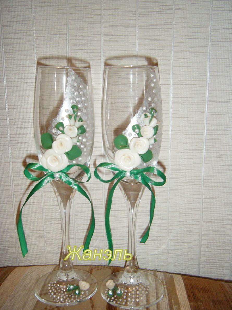 бокалы ручной работы - фото 3582263 Жанэль - студия свадебного декора и услуг