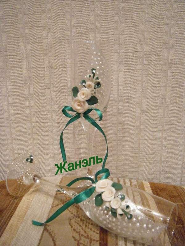бокалы ручной работы - фото 3582265 Жанэль - студия свадебного декора и услуг