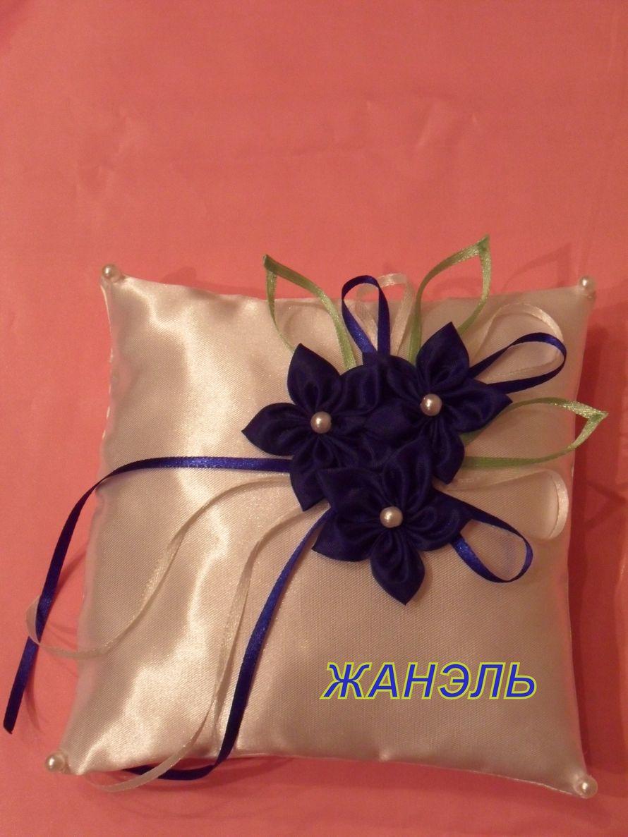 подушка для колец - фото 3891541 Жанэль - студия свадебного декора и услуг