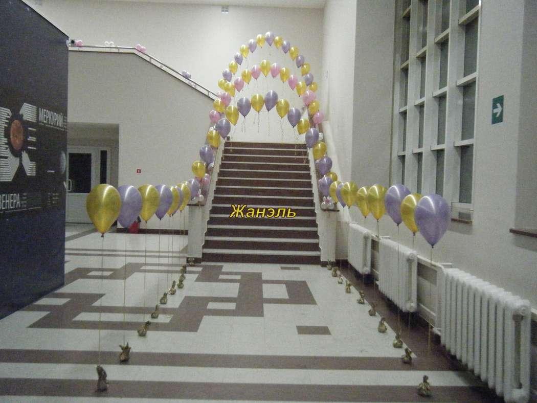 арка из шаров - фото 4617285 Жанэль - студия свадебного декора и услуг