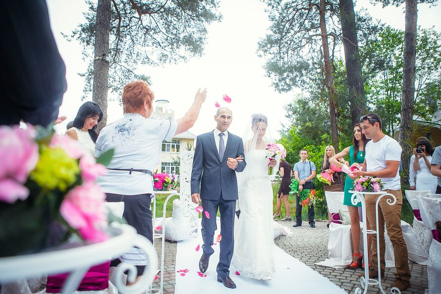 "Фото 1633137 в коллекции Свадьба ""Райский сад"" Александра и Ксении - Jolly Dаy - свадебное агентство"