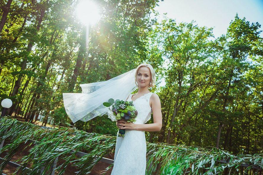 букет невесты из суккулентов - фото 3311555 DIAMANTE-deco студия свадебного дизайна