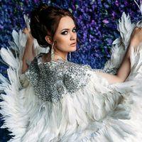 Model: Ольга Петрова  Makeup&Hairstyle by Marina Dobrovolskaya  Photo: Слава Блинов