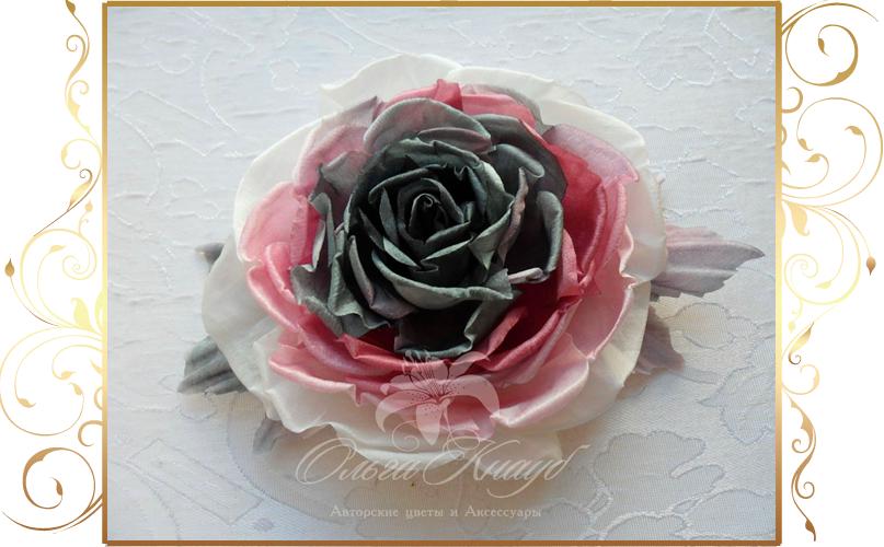Фото 810269 в коллекции Цветы из шелка - Кнауб Ольга - Свадебные аксессуары