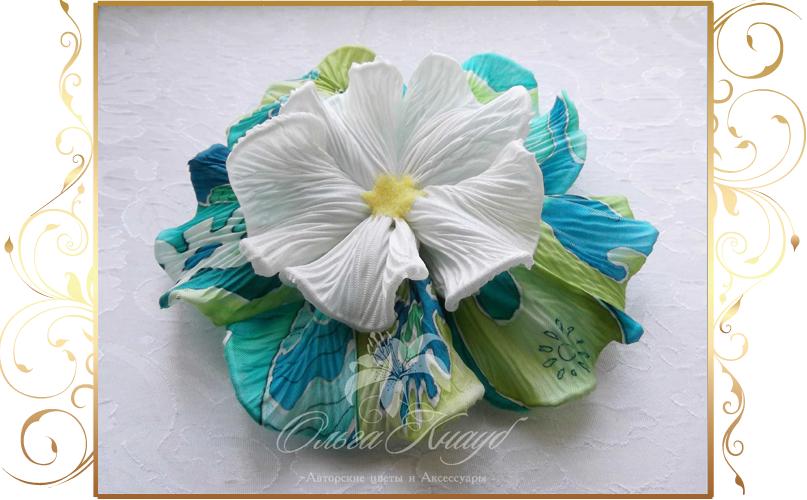 Фото 810275 в коллекции Цветы из шелка - Кнауб Ольга - Свадебные аксессуары