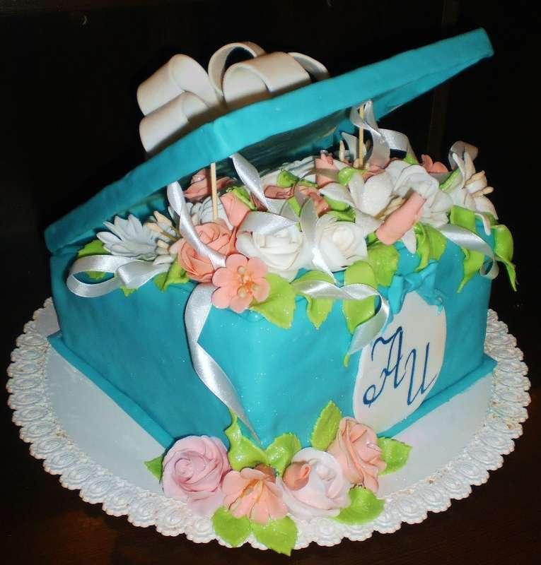 """Фото 8226194 в коллекции Свадебные торты - Арт-кондитерская """"Торты от Светланы"""""""