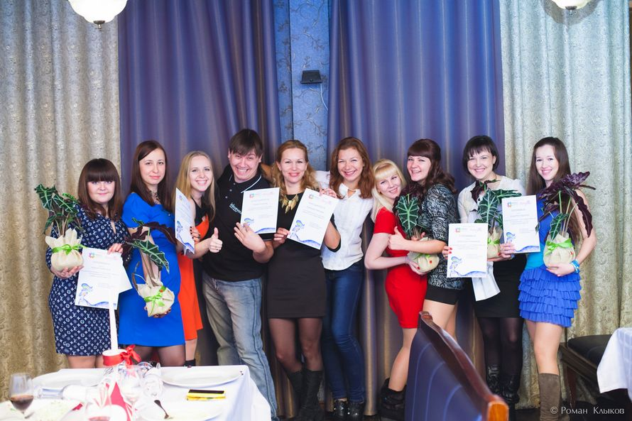 Вручение дипломов об окончании Школы Невест - фото 3984805 Свадебный организатор Галлямова Александра