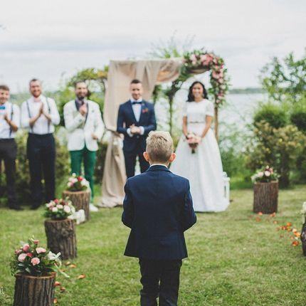 Проведение символической церемонии регистрации брака