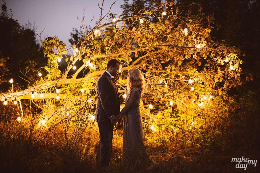 Вечериние кадры обладают какой-то особой магией - фото 3779017 Свадебное агентство Make my day