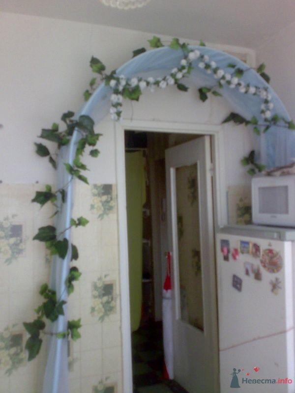 украшенная арка