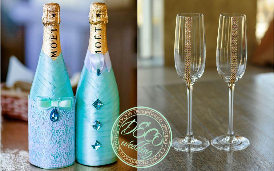 Бокалы под шампанское своими руками